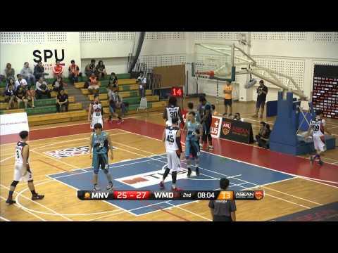 Mono Vampire vs Westports Malaysia Dragons - Full Game - 2015-2016 ASEAN Basketball League
