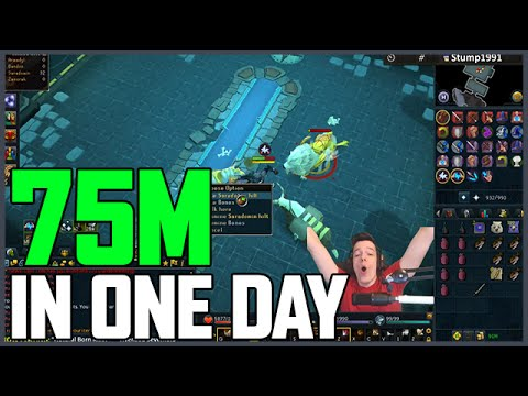 Runescape: 75M Made In 18 Hours