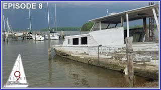 Last Day Sailing up the CHESAPEAKE BAY: Stormy Skies and Broken Dreams (Episode 8: Sailing 9 LIVES)
