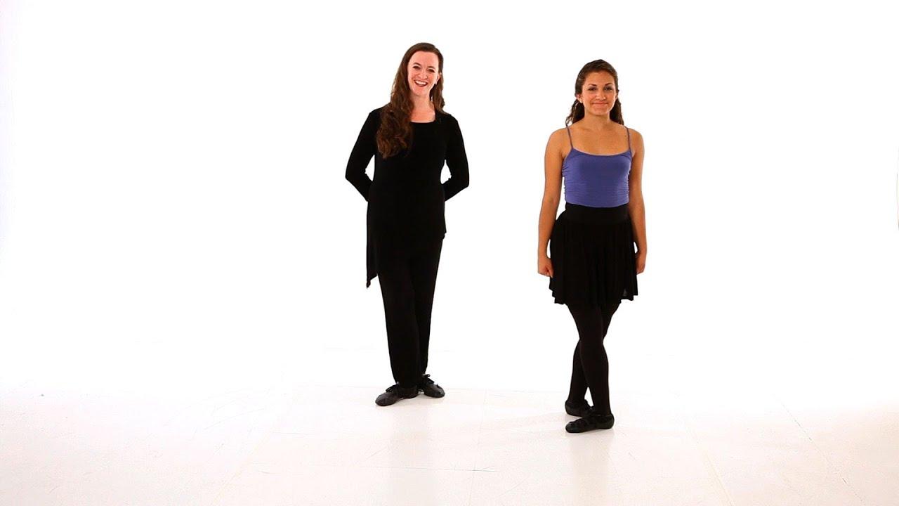 How to Do a Beginner Routine | Irish Step Dancing - YouTube