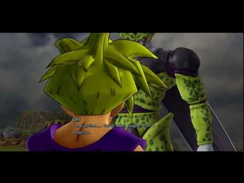 Dragon Ball Z Ultimate Tenkaichi - Ssj Goku & Gohan Vs Perfect Cell video