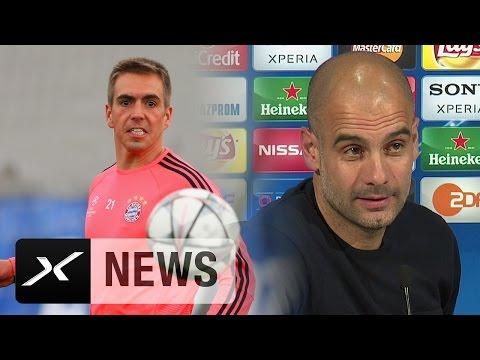 "Pep Guardiola über Philipp Lahm: ""Das Beste an München"" | FC Bayern München - Atletico Madrid"