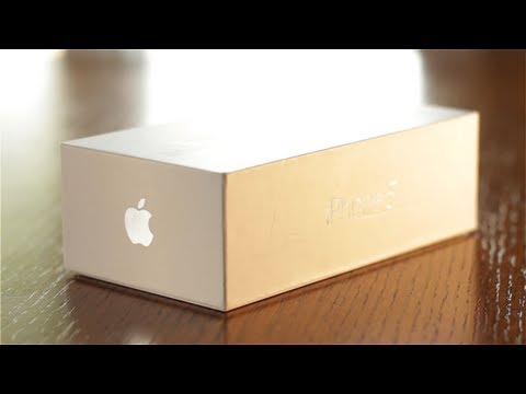 iPhone 5 Cinematic Unboxing