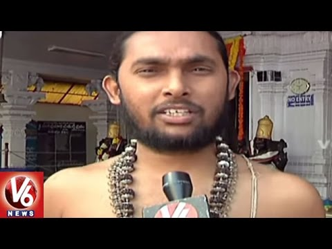 No Rush In Temples With Notes Ban Effect | Hyderabad | V6 News