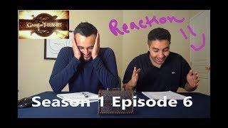 """Game of Thrones Season 1 Episode 6 REACTION!! """"A Golden Crown"""""""
