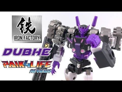 Transformers Review: Iron Factory IF EX-31 Dubhe // P4L Reviews