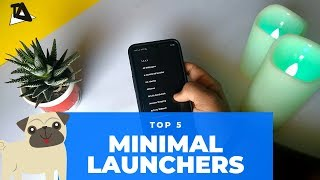 Minimal launchers to reduce your phone addiction.📱📱