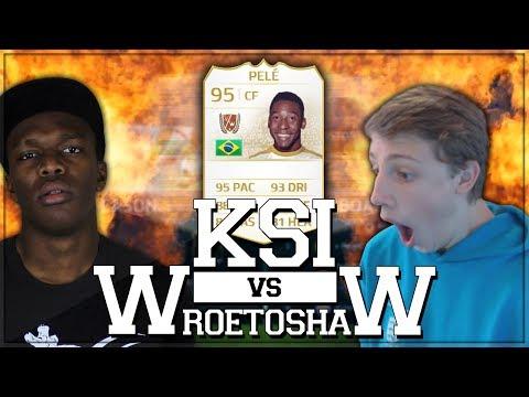 PELE PINK SLIPS | KSI Vs Wroetoshaw (FIFA 14)