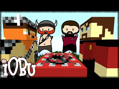 Let's Build: Honeydew and Xephos (Simon and Lewis) From The Yogscast! And TNT - Minecraft Timelapse