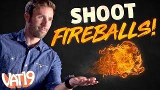 How to THROW FIREBALLS