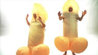 Bodysocks Adult Inflatable Bodycock Costume