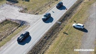 Test Lamborghini Urus vs Ferrari FF vs Jeep SRT Storfräsarpodden