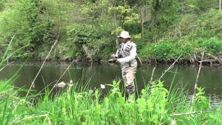 basic small stream dry fly outfit explained.m2ts