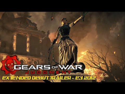 Gears of War Judgment Extended First Trailer E3 2012