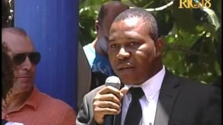 VIDEO: Haiti - Premye Minis Laurent Lamothe te nan Ile a Vache pou pale sou pwoje yo ki ap fet nan zile a