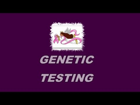 Genetic Testing ~ Is it right for you? Breast Cancer VLOG December 12, 2014