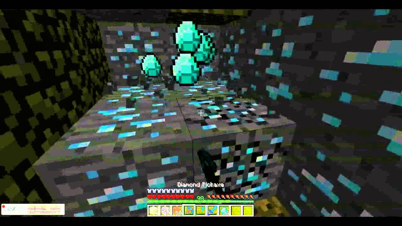 minecraft most diamonds
