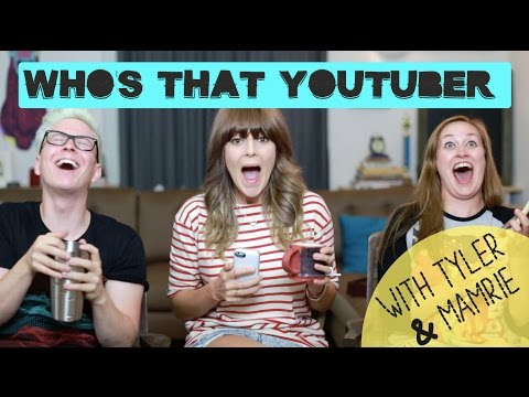 WHO'S THAT YOUTUBER W/ TYLER OAKLEY & MAMRIE HART // Grace Helbig