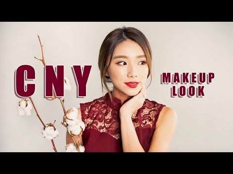 Chinese New Year Makeup 2018 - YouTube