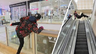 I DARED HIM TO DO THIS!! *Crazy Mall Trip*