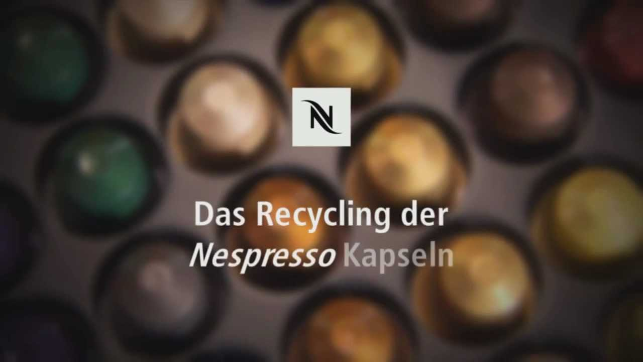 nespresso kapsel recycling in deutschland youtube. Black Bedroom Furniture Sets. Home Design Ideas