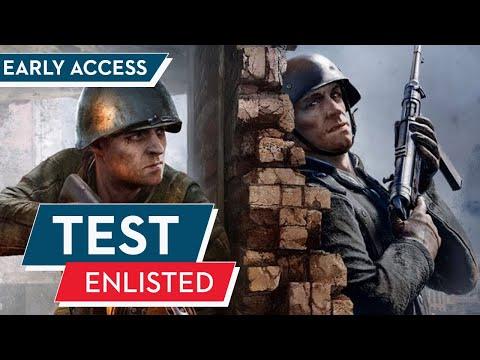 Enlisted Test / Review : War Thunder für Infanteristen