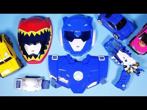 미니특공대 볼트세트, 파워레인저 다이노포스 카봇 건 장난감 mini force Mask Dino charge gun toys