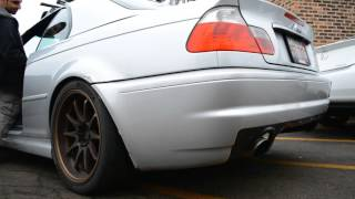 BMW E46 w/ LS3 Swap @ Sound Performance - Exhaust Rev Drive-off Clips