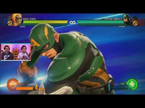 Marvel vs Capcom Infinite Tutorial Combos and Versus Gameplay