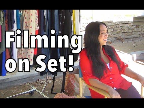 Filming On Set!!! - September 10, 2014 - itsJudysLife Daily Vlog