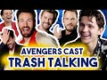 THE AVENGERS CAST TRASH TALKING EACH OTHER | Funny Moments Avengers: Endgame