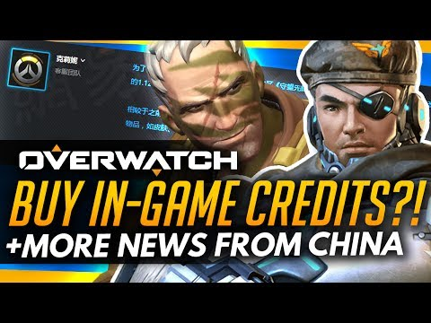 Overwatch | BUY IN-GAME CREDITS IN CHINA + Mobile Game Rip-Off