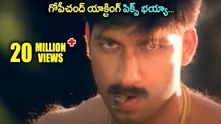 Gopichand     Telugu Movie Scenes    Best Love Scenes    Shalimarcinema