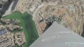 Video desde la cima del Burj Dubai (el edificio más alto del mundo)