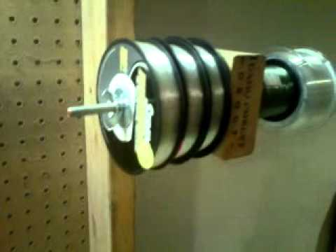 Homemade spooling station for fishing line the petersen for Diy fishing line spooler