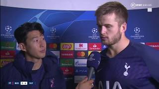 """I'm really, really sorry!"" Heung-min Son talks Andre Gomes injury and Tottenham's win over Red Star"