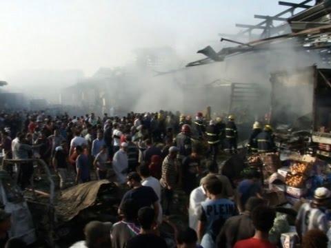 Raw: Baghdad Truck Bomb Kills Dozens