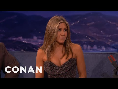 Jennifer Aniston's Deleted Sex Scene  - CONAN on TBS