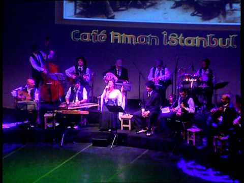 Cafe Aman İstanbul - Tim Show - 17/03/2012