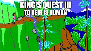 KING'S QUEST III Adventure Game Gameplay Walkthrough - No Commentary Playthrough