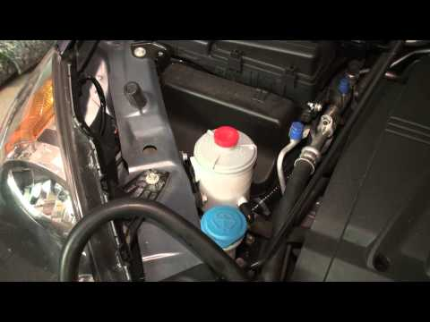 Honda Odyssey Power Steering Fluid Flush