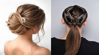 Hair Style Girl | Best Hairstyle | Wedding Hairstyles Tutorial