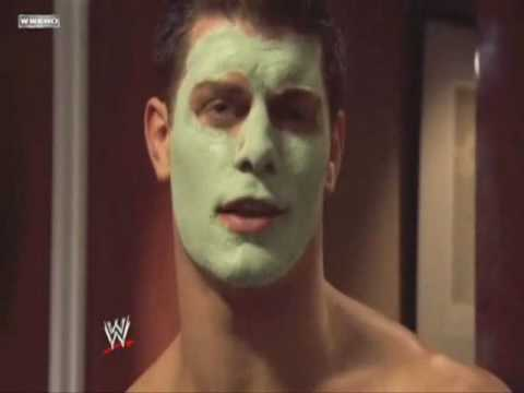 Dashing Cody Rhodes grooming tips (SmackDown 07 30 2010) Video