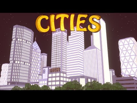 Minecraft: City Mod Showcase! (Computer Mod. Highways. Skyscrapers)