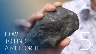 How we found the rock: Curtin's metorite hunters