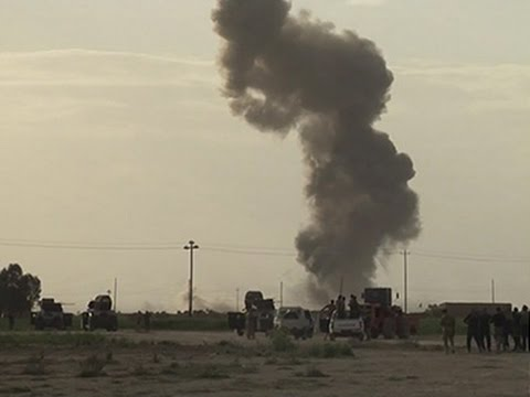 Raw: Iraqi Forces, IS Group Clash Near Tikrit