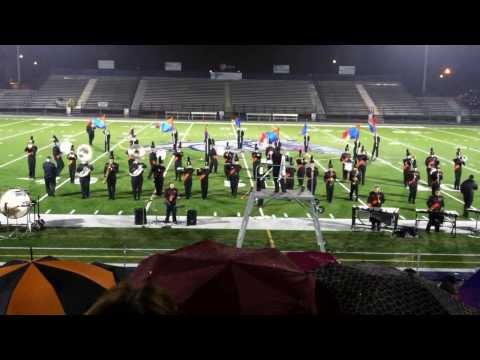 Milton PA Marching Black Panthers at the 2013 Greater Susquehanna Valley Region Championships