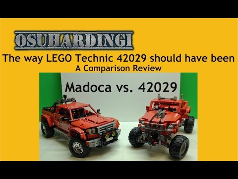 The way LEGO Technic Customized Pick-Up Truck should have been. Set 42029