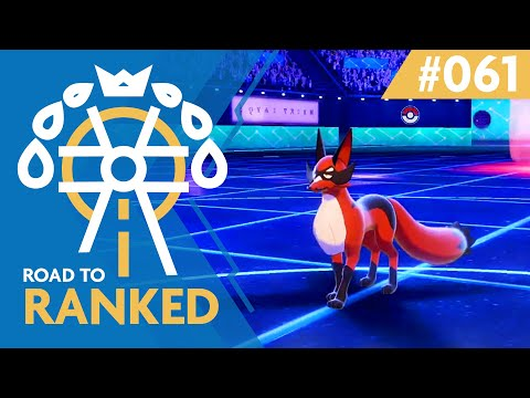 Road to Ranked #61 - Thievul, Heliolisk, Dynamax Indeedee?! | Competitive VGC 20 Pokemon Battles
