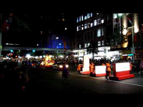 Sydney Chinese New Year Festival 2010 Twilight Parade [HD] (Ano Novo Chinês na Austrália)
